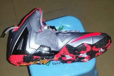 nike lebron 11 ps grey pink 1 01 Leaked: Nike LeBron XI PS Elite in Grey & Pink