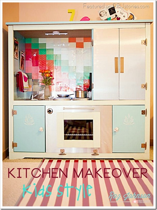 Kids kitchen makeover