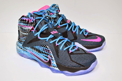 Nike LeBron 12 23 Chromosomes South Beach