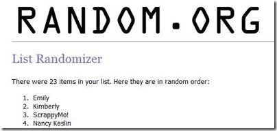 Random Contest