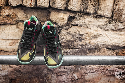 nike lebron 11 gr king of the jungle 3 07 kings pride Release Reminder: LEBRON 11 Kings Pride / King of the Jungle