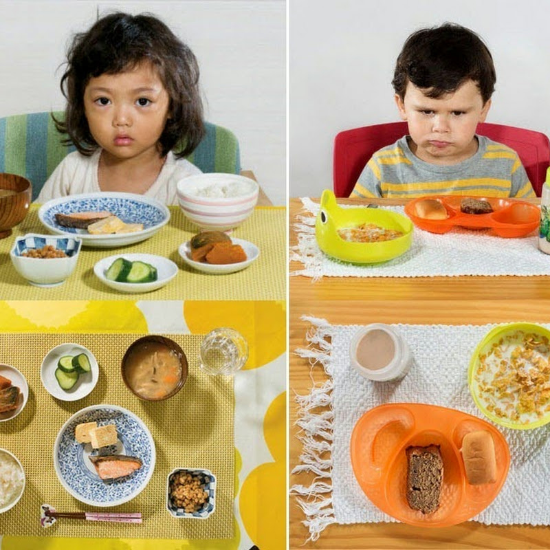 What Kids Around The World Have For Breakfast