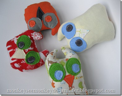 Owl Stuffie and pattern (13)