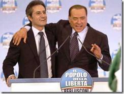 Stefano Caldoro con Silvio Berlusconi