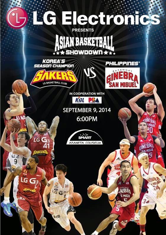 LG Asian Basketball Showdown