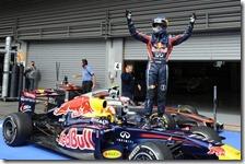 Vettel vince il gran premio del Belgio 2011