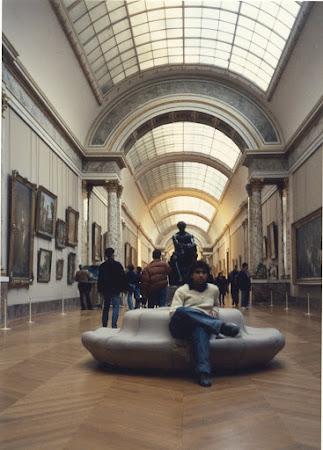 In galeriile Luvru