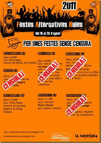 cartell generla CENSURA