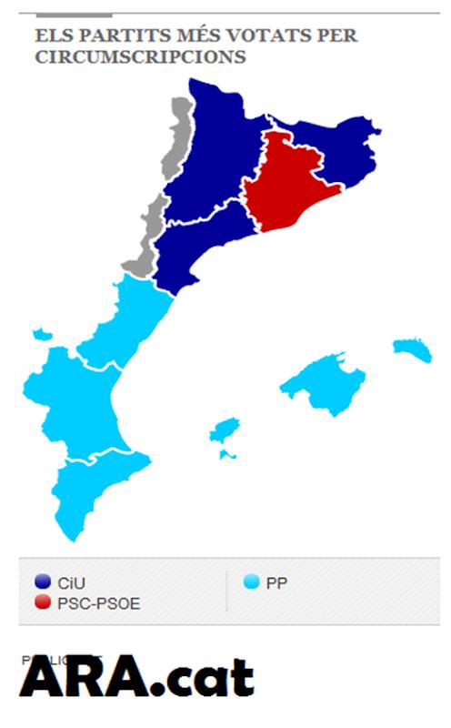 eleccions del 20M en país catalan