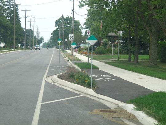 Campden Bike Lanes