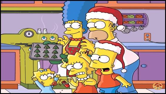 Navidad simpsons