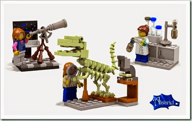 lego female scientists