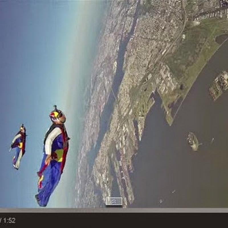 Ιπτάμενοι πάνω από τη Νέα Υόρκη