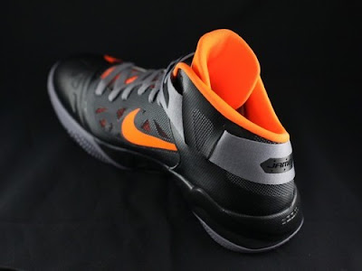 nike zoom soldier 6 gr black grey orange 2 02 New Nike Zoom LeBron Soldier VI   Black/Orange   Available