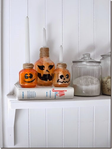 Country Living jack-o-lantern-candlesticks