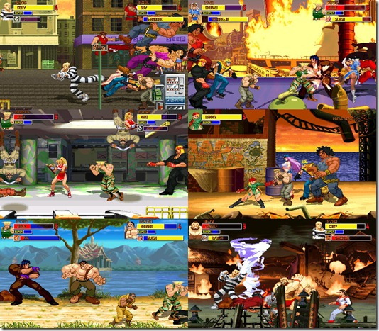 Final Fight Alpha Preview 2