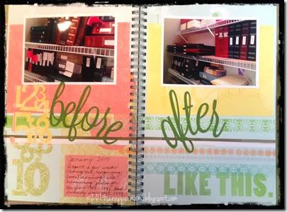 photo album reorganization