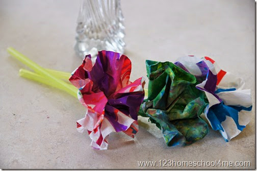 Beautiful and simple flower craft for kids
