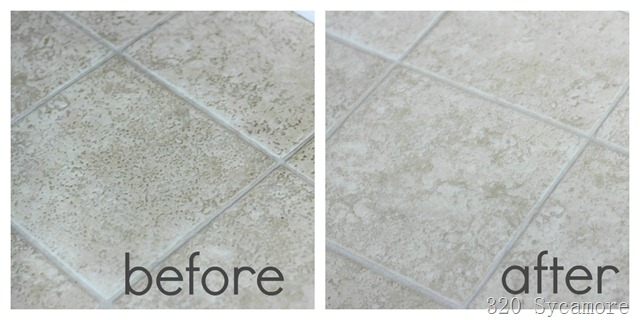 linoleum before after