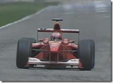 Rubens Barrichello al gran premio di Germania 2000