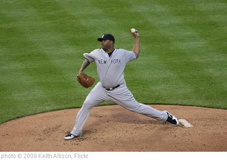 'CC Sabathia' photo (c) 2009, Keith Allison - license: http://creativecommons.org/licenses/by-sa/2.0/
