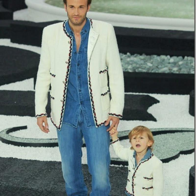 Cậu bé bí mật trong show của Chanel