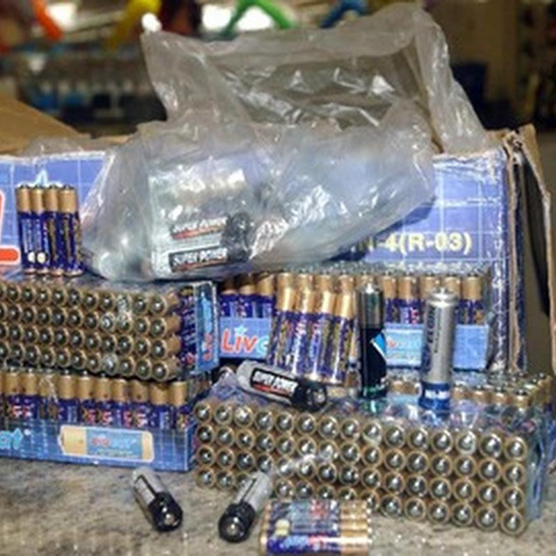 Uso e descarte de pilhas e baterias tem novas regras