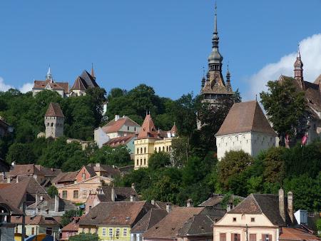 Obiective turistice Romania: cetatea