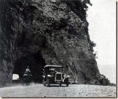 Strada sulla costa di Valona.