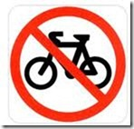 No Cyclists