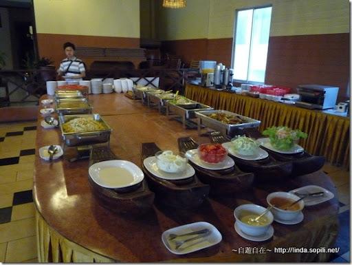 泰國芭達雅Phuphaya Resort早餐
