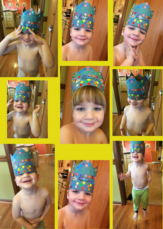 Hundredth Day of School Crowns and Other Activities