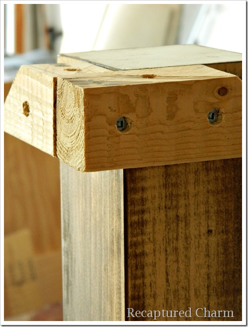 rustic coffee table shelf1