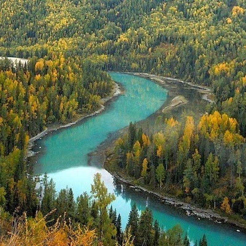 Mesmerizing Beauty of Kanas Lake Nature Reserve