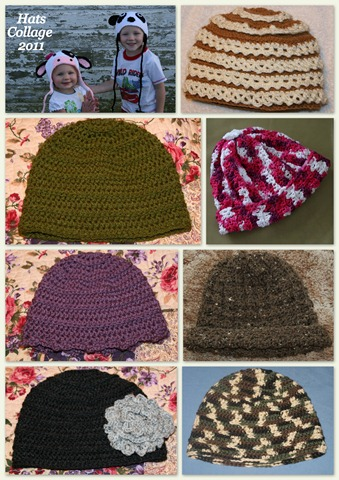 Hats Collage 2011-1