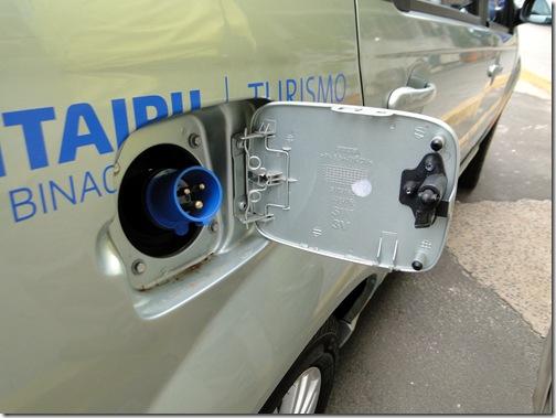 Como abastecer os Veículos Elétricos de Itaipu vivian