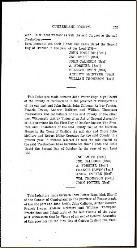 Francis Irwin Series 6 Volume XI Page 155