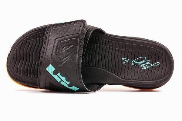 Nike Air LeBron Slide 3 Elite 8211 Black  Peach Cream