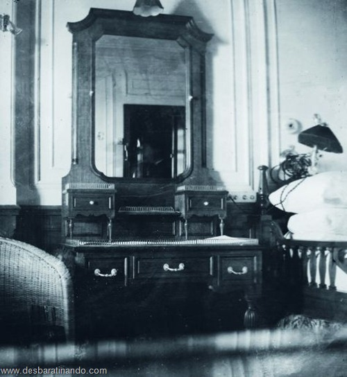 O quarto na suíte Browne