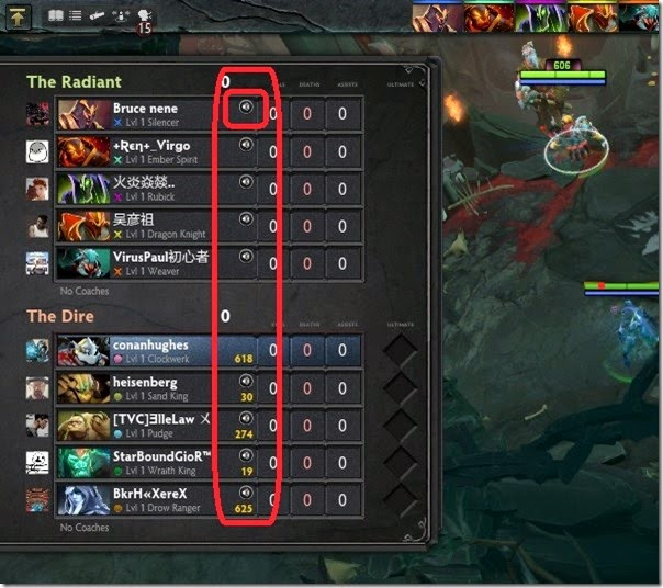 Dota 2 Mute Player