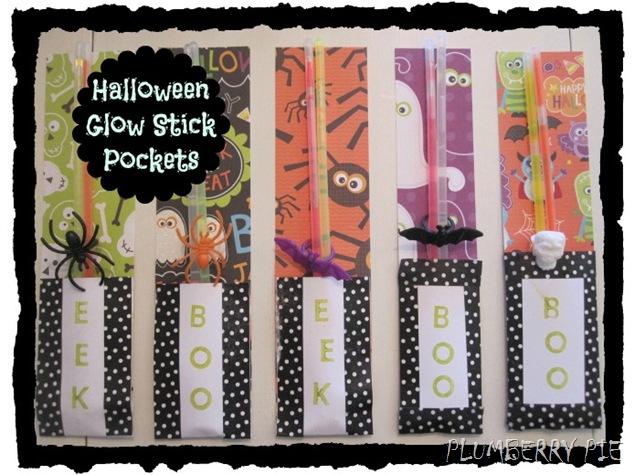 Halloween Glow Stick Pockets