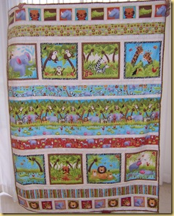 Animal Quilt Sheila K