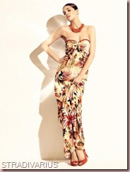 Stradivarius-Summer-2011-Lookbook-Collection-campaign-flower-print-maxi-length-dress-is-so-casual