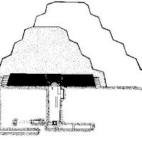 13.- Pirámide escalonada de Zoser