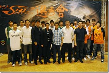 第9季SBL選秀會獲選球員與各隊教練合影-1