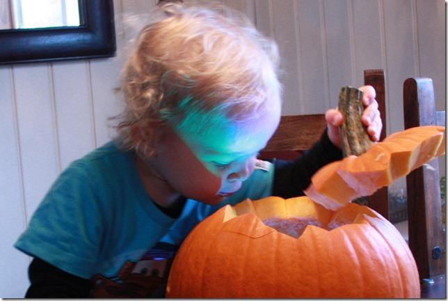 halloween gresskarutskjæring IMG_7334