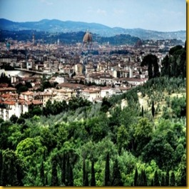 Avvicinandosi a Firenze