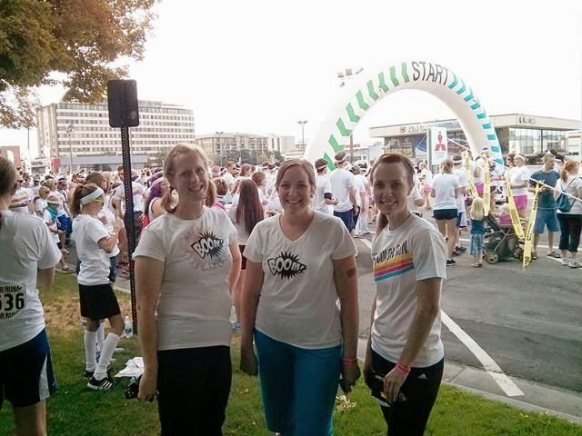 Color Run Before Pic