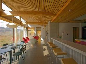 casa rustica diseño interior cocina americana