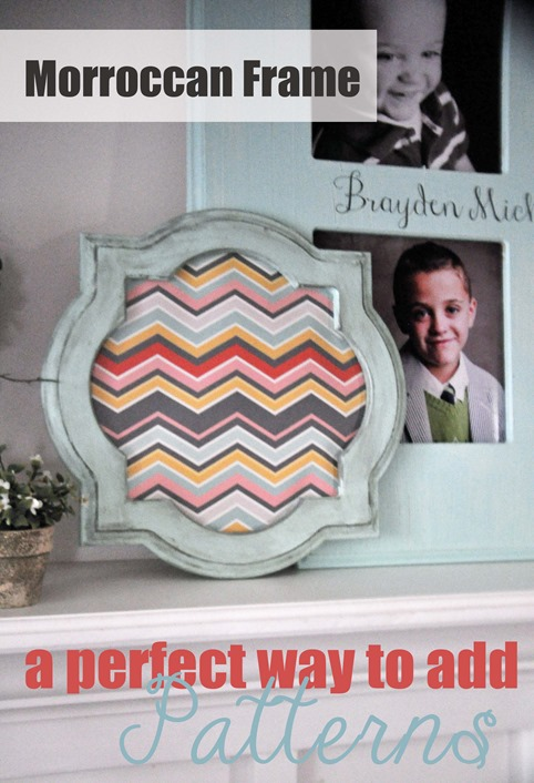 Super Saturday Craft Ideas - Moroccan Frame